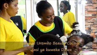 Jifunze jinsi ya kuweka dawa ya nywele | JIFUNZE UREMBO