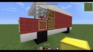 как сделать  машину в Minecrafte без модов