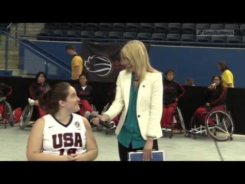 INTERVIEW: Rebecca Murray (USA) | 2014 IWBF Women's World Wheelchair Basketball Championships