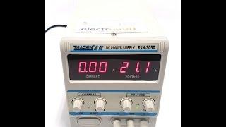 Лабораторний блок живлення RXN-305D як зарядний пристрій ! Відео від Electronoff