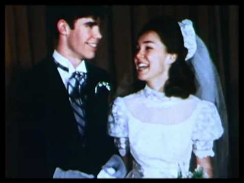 Julie Nixon and David Eisenhower wed 1968