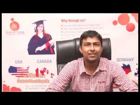 Success of I-Overseas for Mr. Ravi Chauhan on his Student Visa for Czech Republic