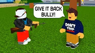 BULLY VS ADMIN COMMANDS IN ROBLOX!