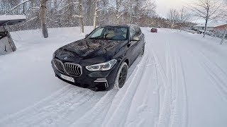 BMW X5 M50d G05 - POV Test Drive in the Snow