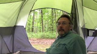 Camping at the Jeŗsey Bayshore