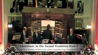 Christmas in the Grand Tradition Part-7 Wanamakers Philadelphia Pa 11-27-10