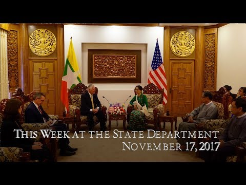 U.S. Department of State: This Week at State: November 17, 2017