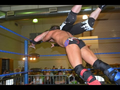Johnny Gargano VS. Chris Sabin - Absolute Intense Wrestling [Free Wrestling Match]