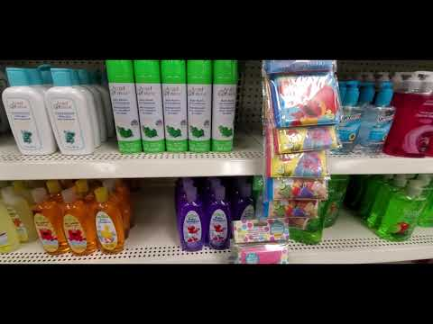 ASMR Dollar Tree and soap and other organizing