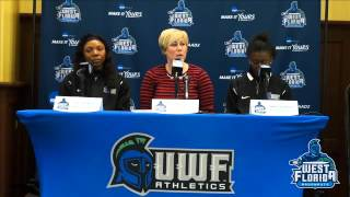 2015 UWF Winter Sports Media Day: Women's Basketball