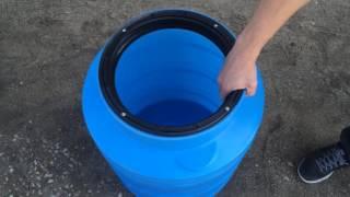 - 100 л пластиковый бак для воды серия V - Полимер Групп(Бак пластиковый V-100. Объем 100 л. Высота: 700 мм. Диаметр: 490 мм. Вес: 4 кг. Изготовлен из пищевого пластика., 2016-09-29T07:32:32.000Z)