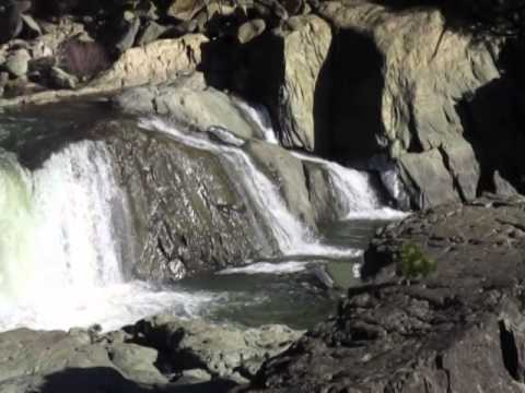 Indian Falls at Indian Creek in Plumas County, California