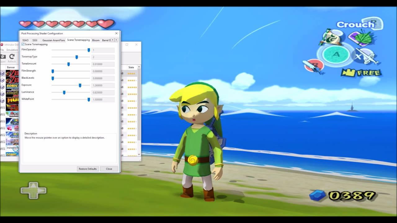 Wind Waker hd for dolphin how to