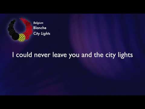 Blanche - City Lights (Belgium)  [Karaoke Version]
