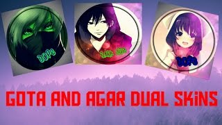 How to make Gota and Agar dual Custom Skins