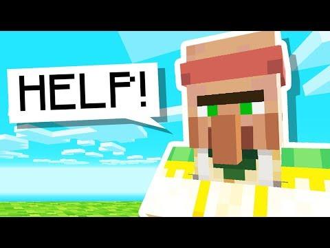 I Built a VILLAGER MACHINE in Minecraft Hardcore..