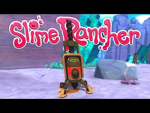 Slime Rancher - Advanced Drill and Pump! - Let's Play Slime