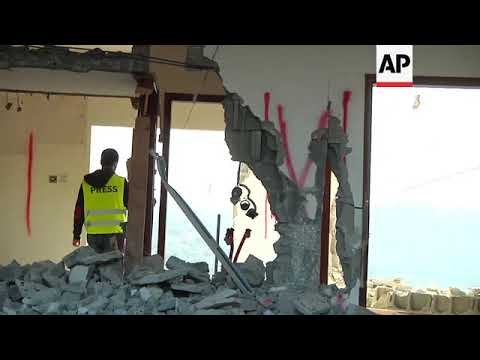 Israeli military partially demolishes Palestinian home