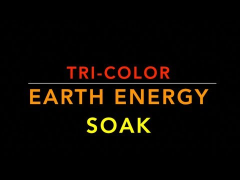 Tri-Color Earth Energy Soak- Special Grounding Meditation Walkthru