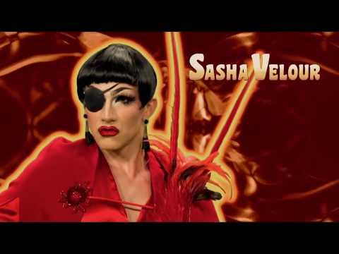 Rupaul's Drag Race - Teets & Asky | Shea Couleé Sasha Velour