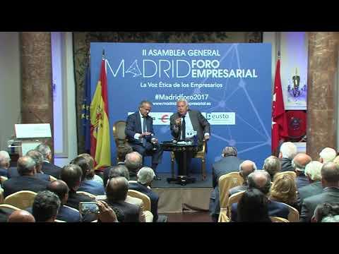 DISCURSO DE FELIPE GONZÁLEZ. II ASAMBLEA MADRID FORO EMPRESARIAL