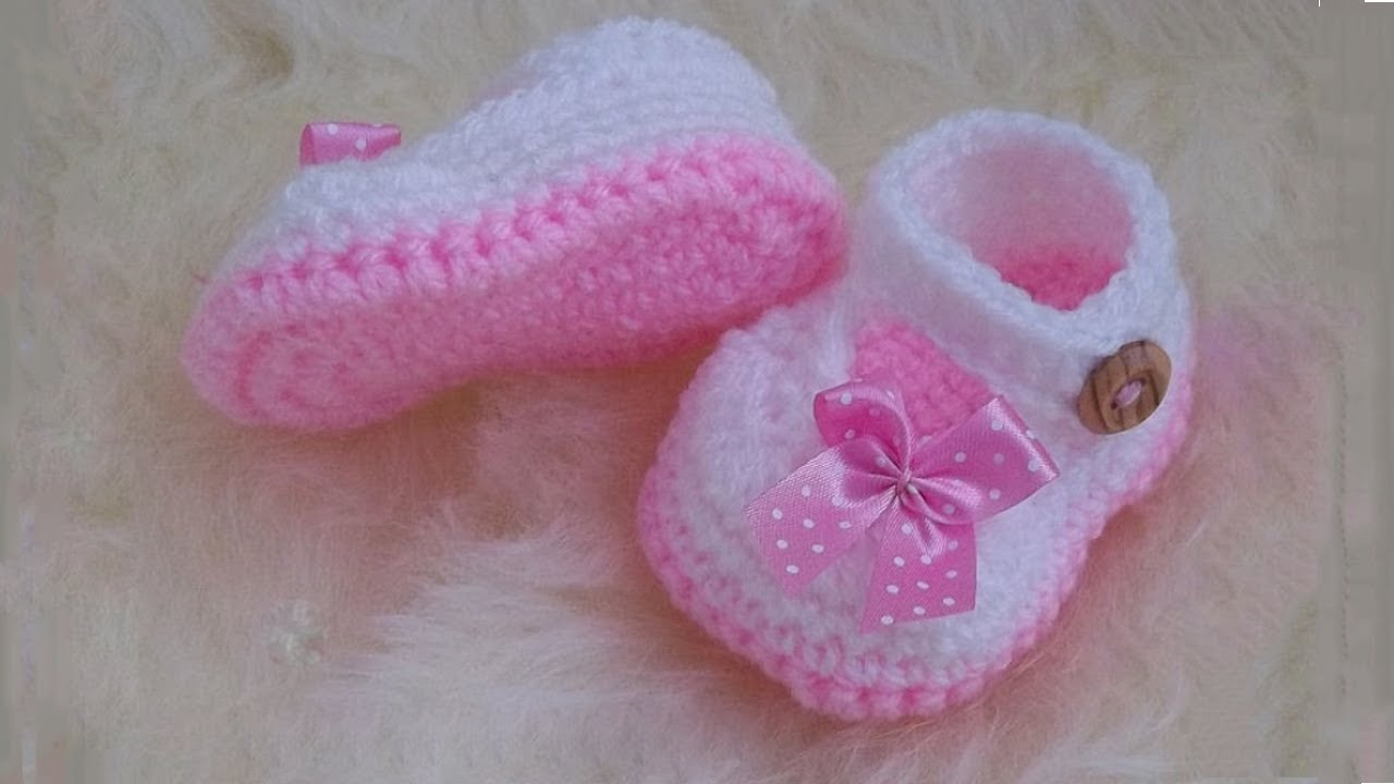 Adorable And Free Crochet Baby Booties Patterns Youtube
