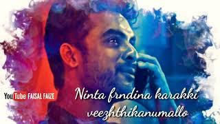 ❤Tovino Romantic Dialogue ❤New Love Feel MalayalamWhatsapp Status