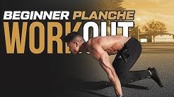 5 Min. Beginner Planche Workout - Follow Along