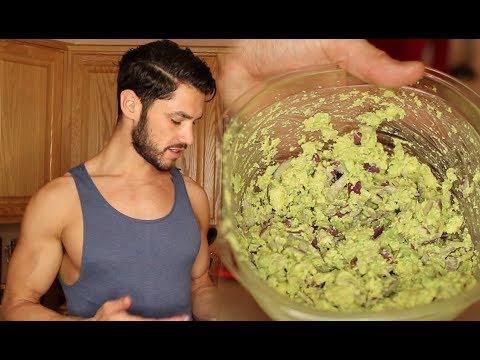 healthy-snack-recipes-|-guacamole