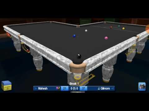 Snooker HD | Tough Match | Make Some Strategy |  Mahesh Vs J. Gilmore