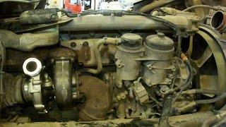 Замена турбины MAN tga Turbo Replacement