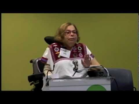 Judy Heumann at the Disability and HIV Leadership Forum