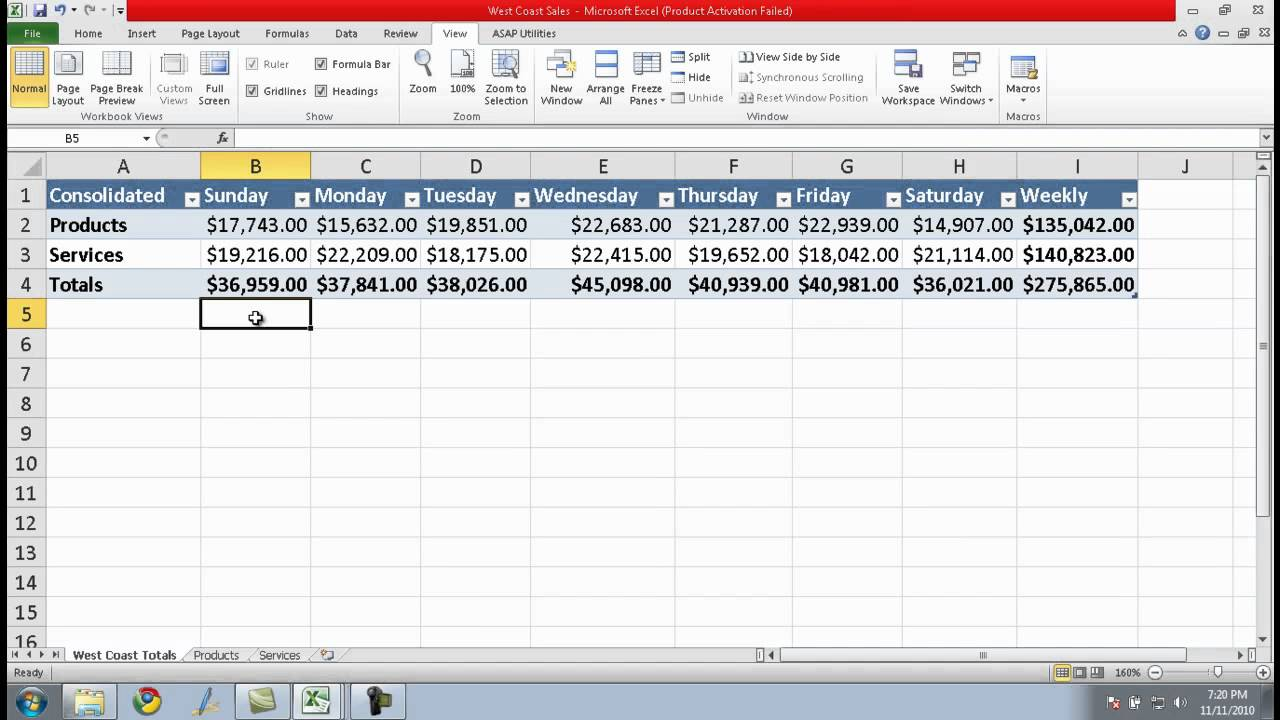 How to Link Cells in Different Excel Spreadsheets - YouTube