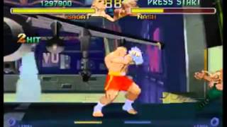 Street Fighter Zero/Alpha 2 ~ Sagat 【TAS】