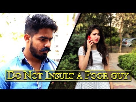 DO NOT INSULT A POOR GUY | The Rahul Sharma- YouTube