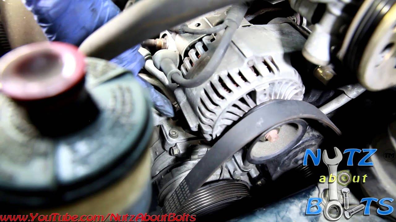 19982002 Honda Accord Drive belt remove and install  YouTube