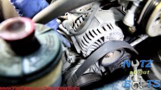 1998-2002 Honda Accord Drive belt remove and install