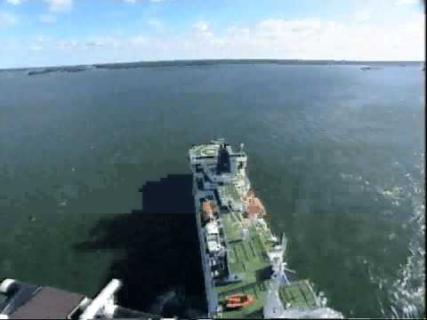 Cable Ship Retriever seatrials in Finland