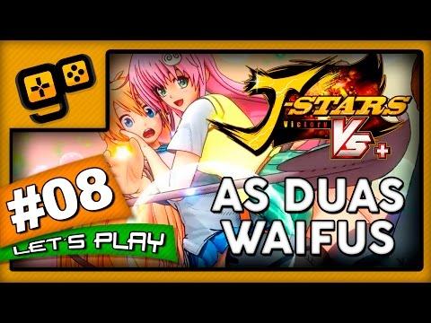 Let's Play: J-Stars Victory VS+ (LUFFY) - Parte 8 - As Duas Waifus