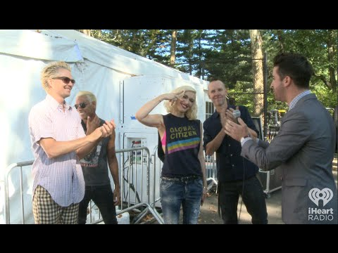 No Doubt Backstage at The Global Citizen Festival | Hella Good Interview