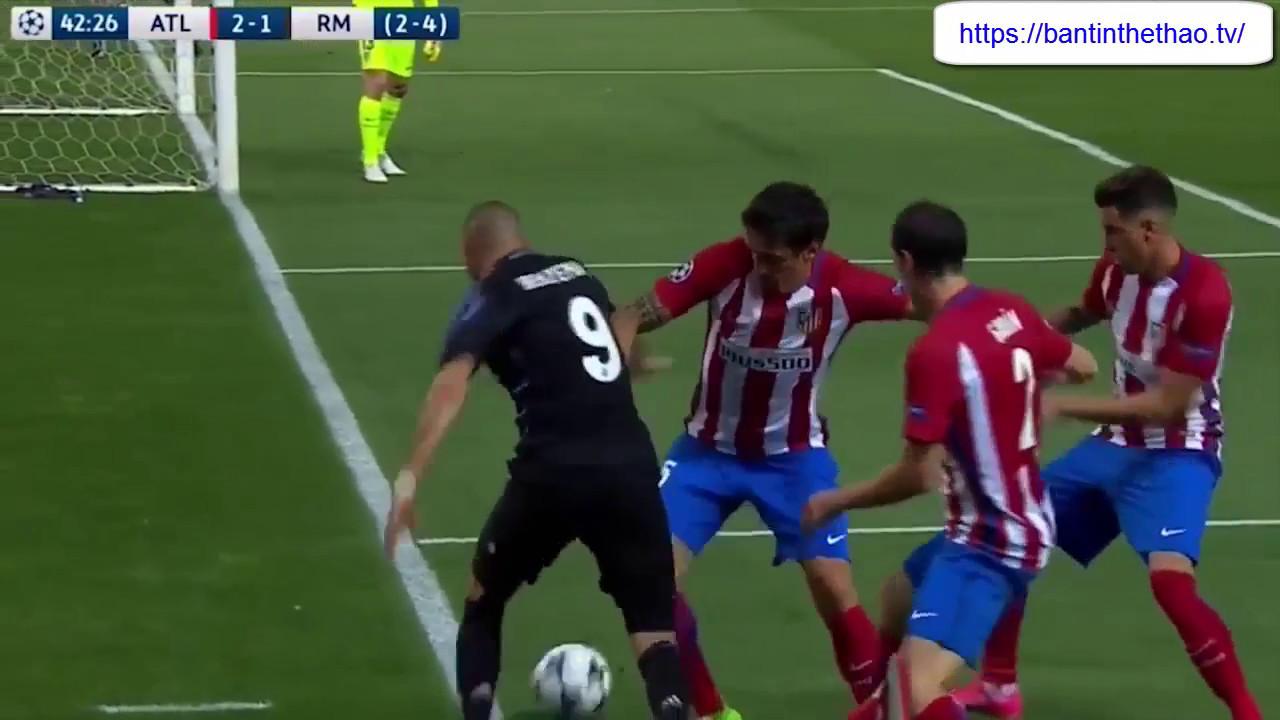 Bán kết C1 Real vs Atletico Madrid ngày 11 05