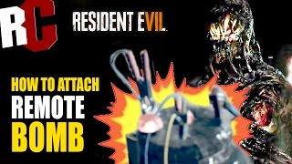 Resident Evil 7 - How to Attach Remote Bomb Achievement / Trophy (That's a Spicy Meat-a-ball)