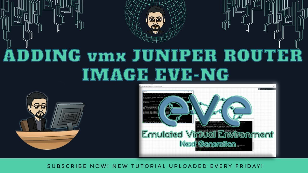 Adding Juniper vMX Router, Juniper Router Setup and download image