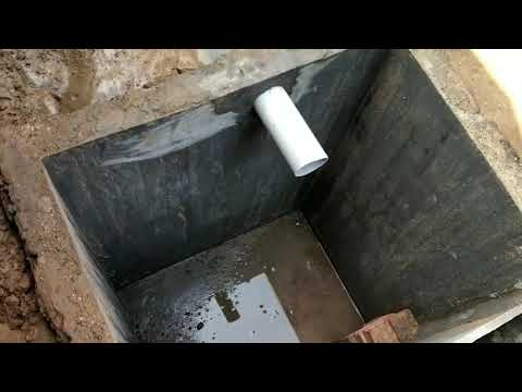 septic tank design for home in india
