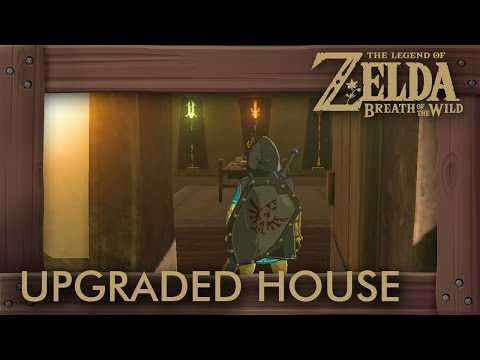 Zelda Breath of the Wild - Full Upgraded House