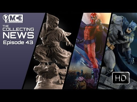 MCE The Collecting News Episode 43: LIVE Chat, Latest Releases, Reveals, and Cool Customs!