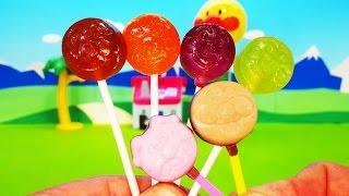 アンパンマン アニメ おもちゃ ペロペロチョコとペロペロキャンディーをみんなでたべよう❤ アンパンマン お菓子 Anpanman Toy thumbnail