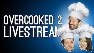 Overcooked 2 LIVE From EGX 2018! Overcooked 2 Gameplay Livestream with Outside Xtra thumbnail
