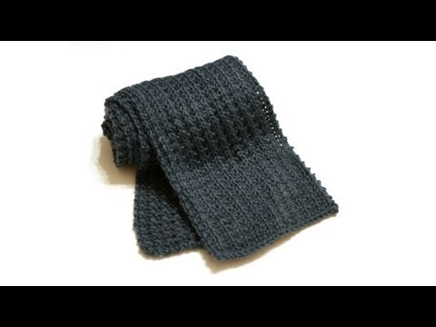 Learn To Knit Your First Scarf Part