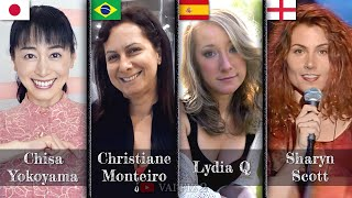 Tenchi Muyo ending theme Epic Mashup: Chisa Yokoyama, Christiane Monteiro, Lydia Q & Sharyn Scott